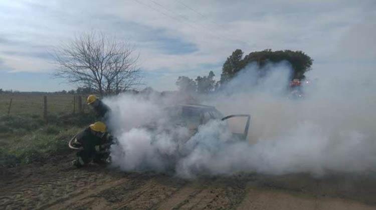 Incendio vehicular