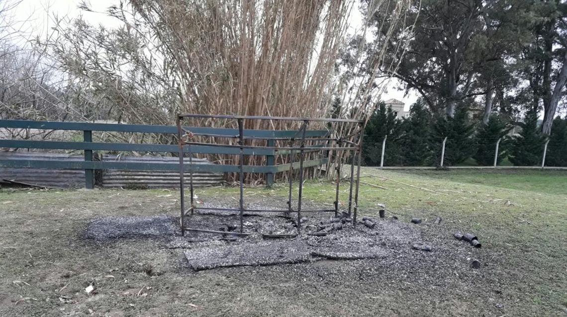 """Vandalismo en el """"Vía crucis"""""""
