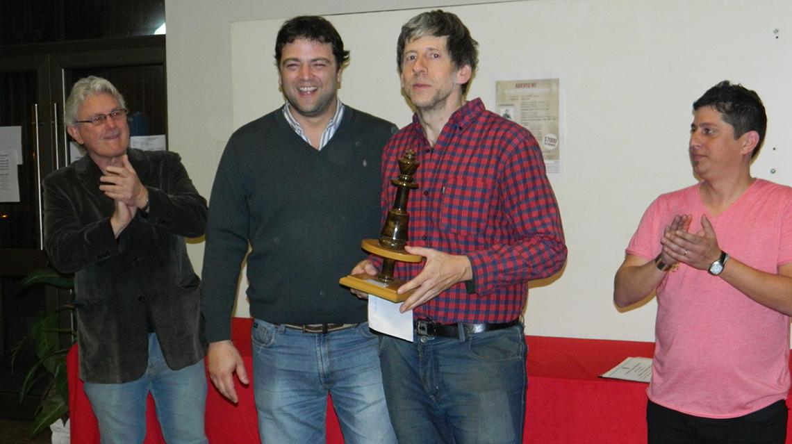 Diego Mussanti ganó el Torneo del Español