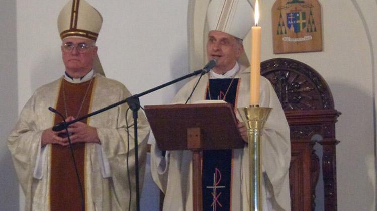 La comunidad diocesana de Nueve de Julio celebró las Bodas Sacerdotales