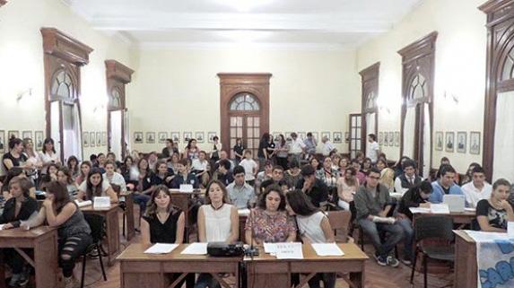 Sesión estudiantil del concejo