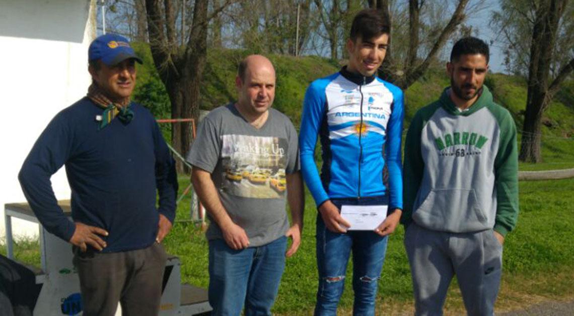 Corro recibió apoyo de Ciclistas