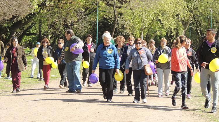 Caminata por el Alzheimer