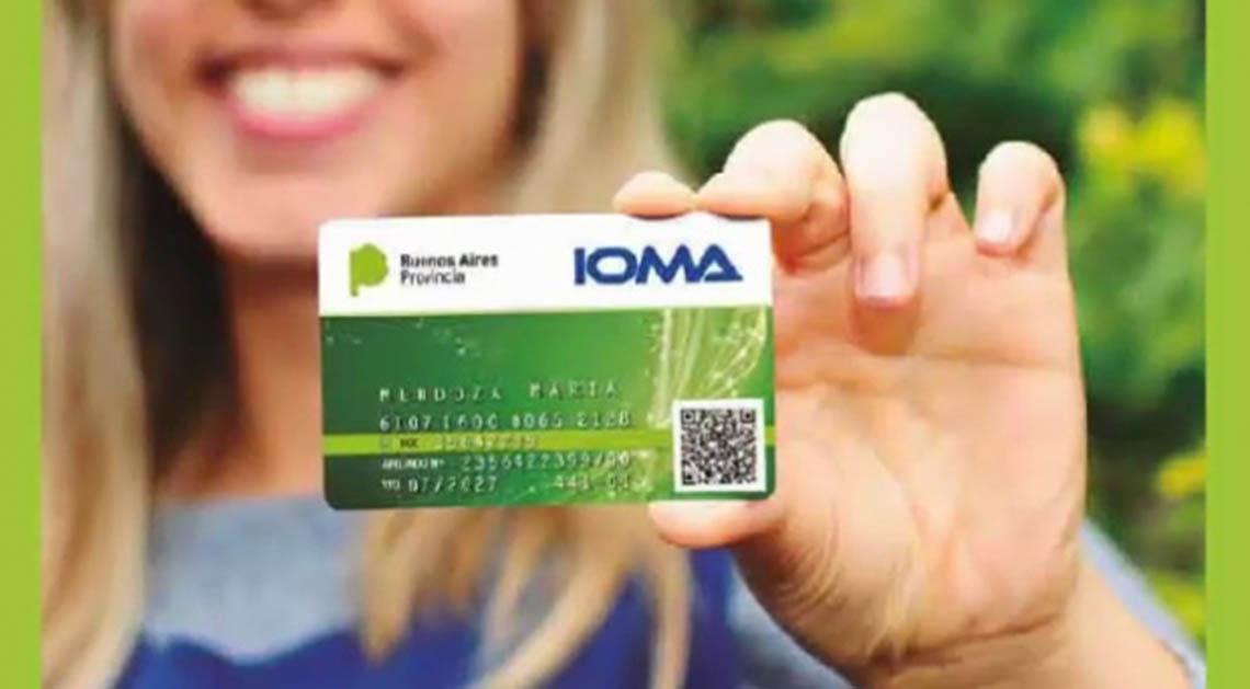 Nuevas credenciales de IOMA