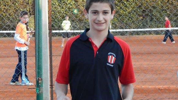 El tenista Mariano Navone fue reconocido