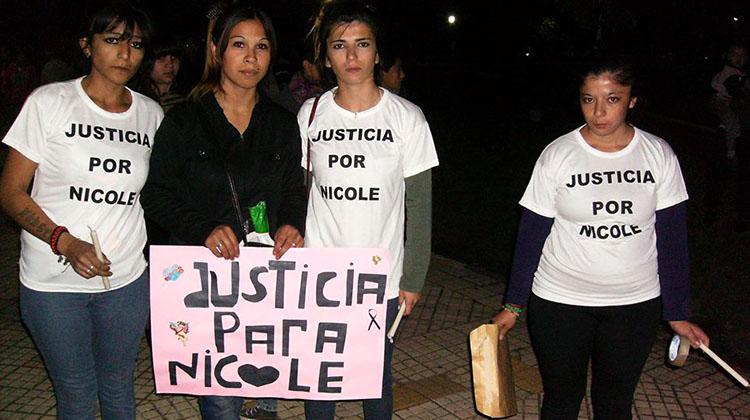 Caso Nicole: Marcharon pidiendo justicia