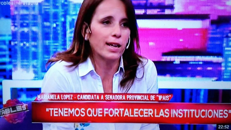 Marianela López estuvo en Intratables