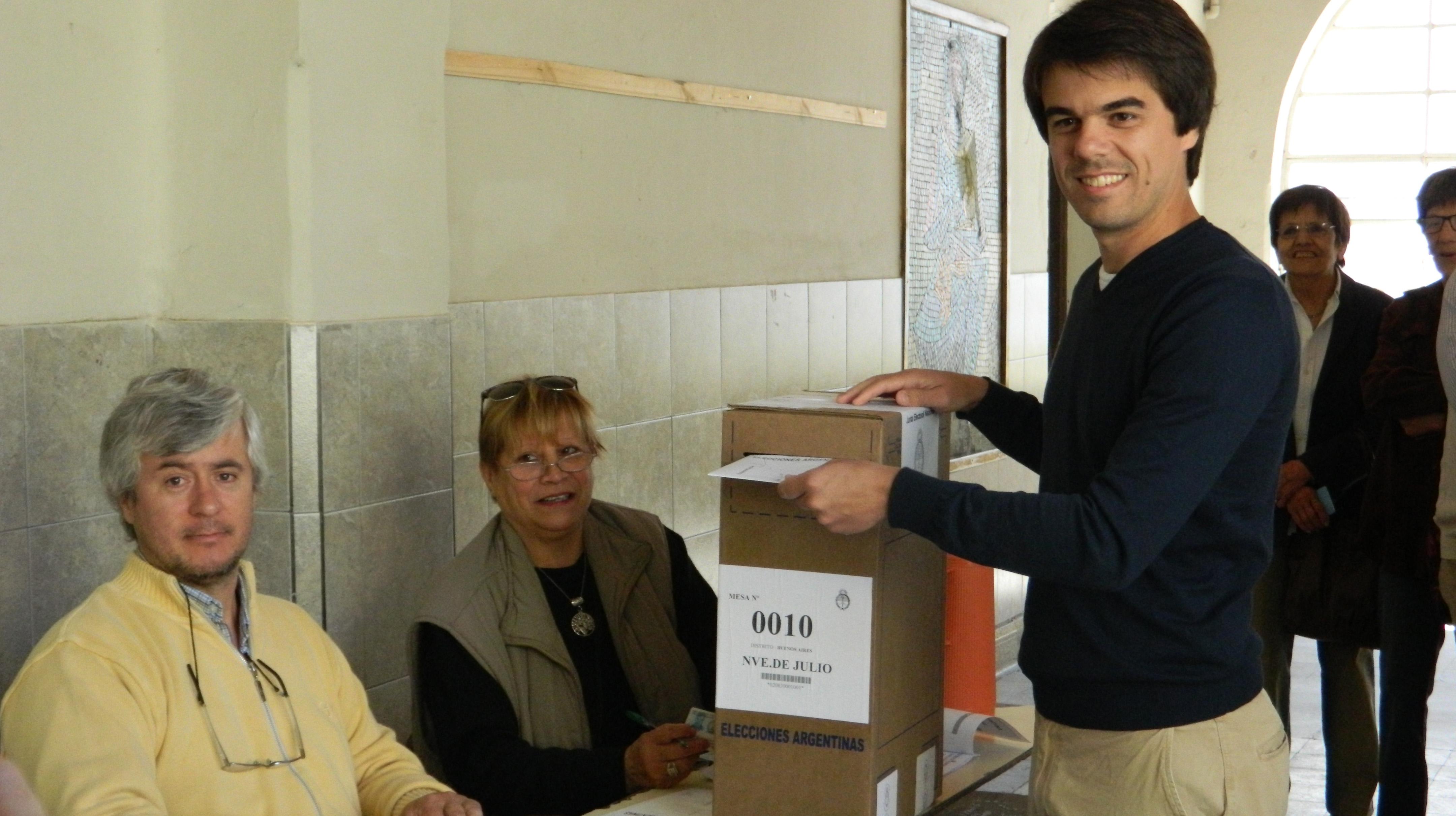 Votó Paolo Barbieri