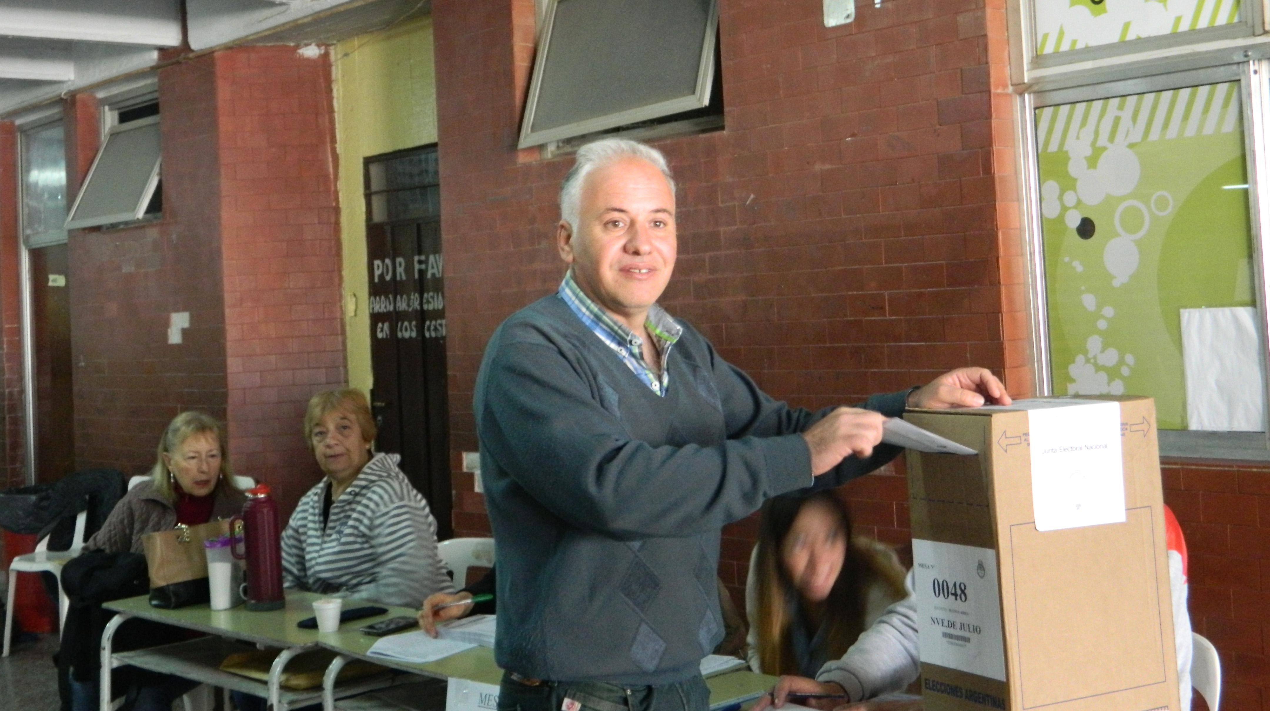 Votó Dario Lanieri
