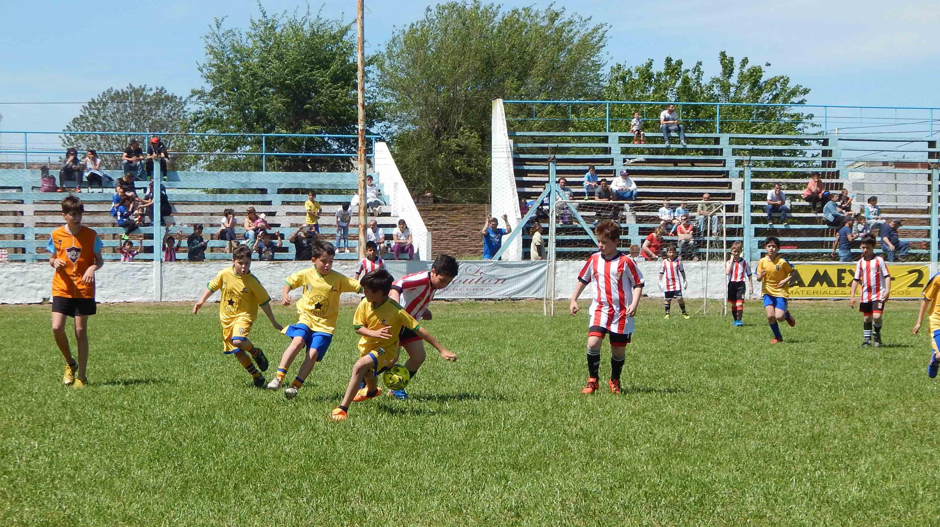 Torneo de fútbol infantil