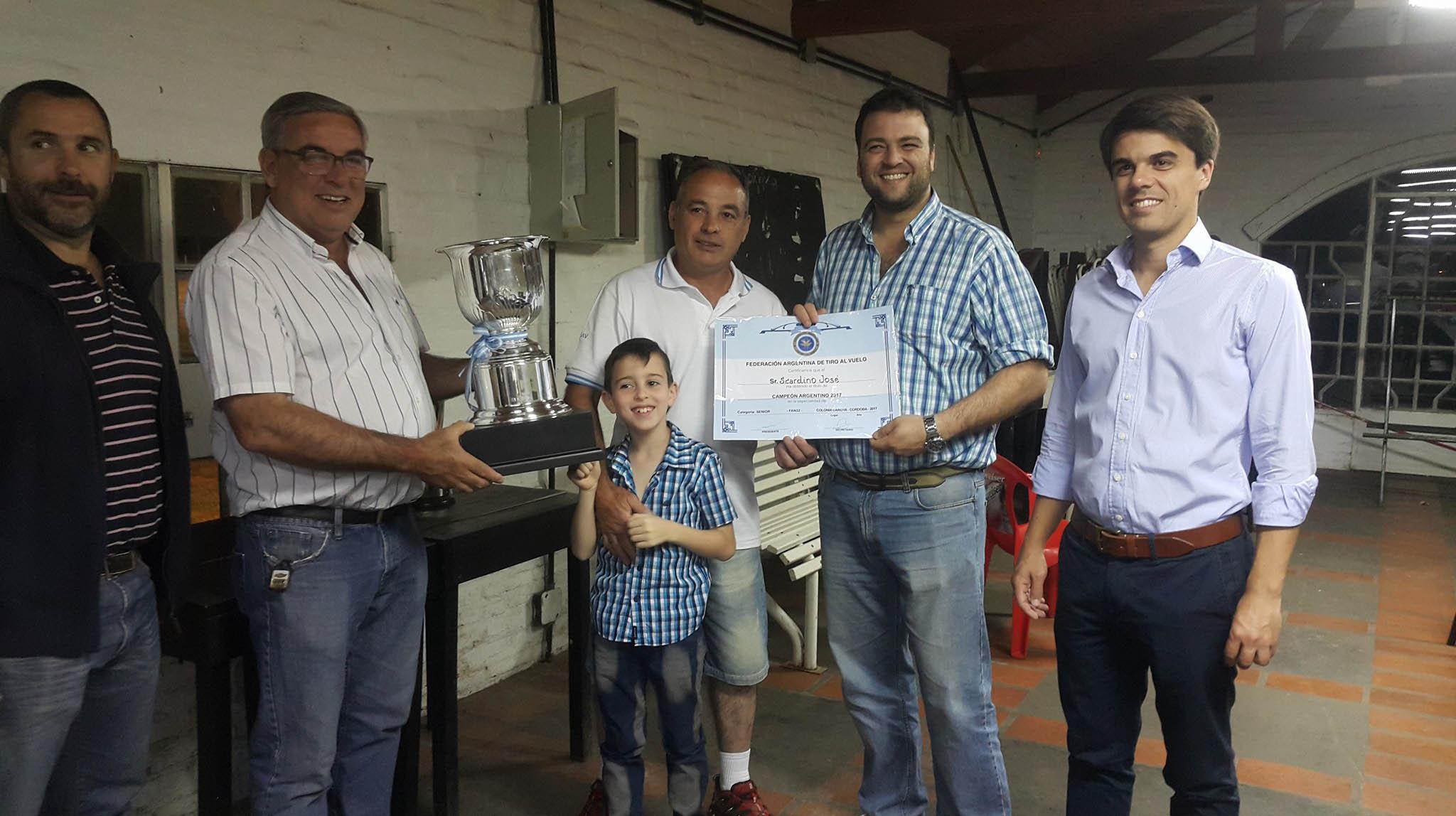 Campeón Argentino de Tiro