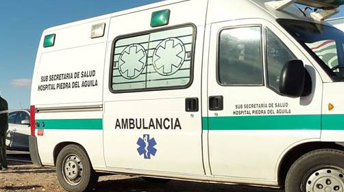 Nuevejulienses accidentados en la Patagonia