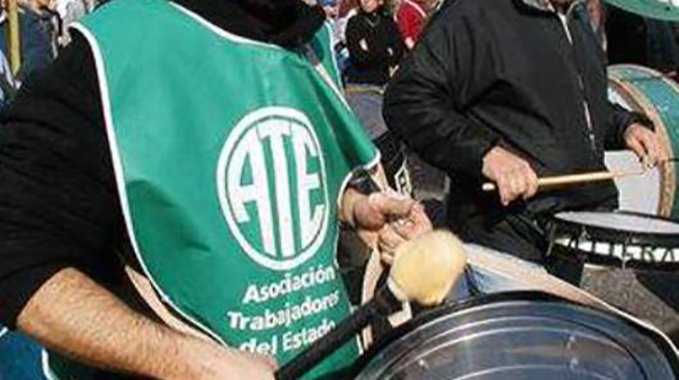 Trabajadores de ATE hacen paro nacional
