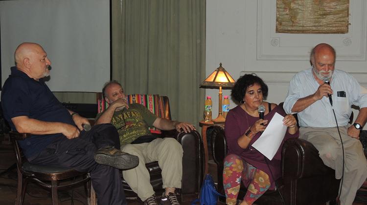 Roberto Castro presento su libro