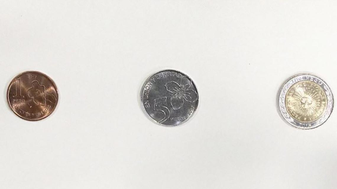 Comenzaron a circular las nuevas monedas