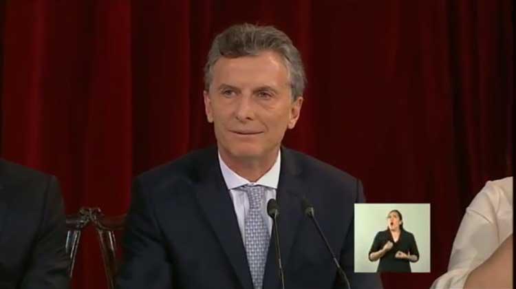 Transmisión en vivo de la jura de Mauricio Macri como presidente de la Argentina