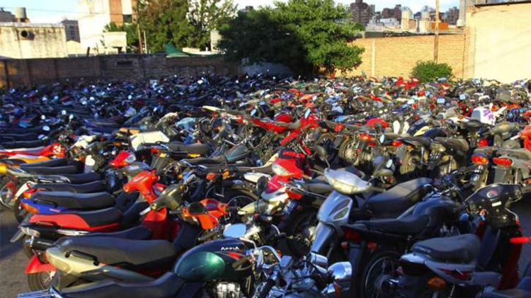Compactarán 500 motovehículos secuestrados