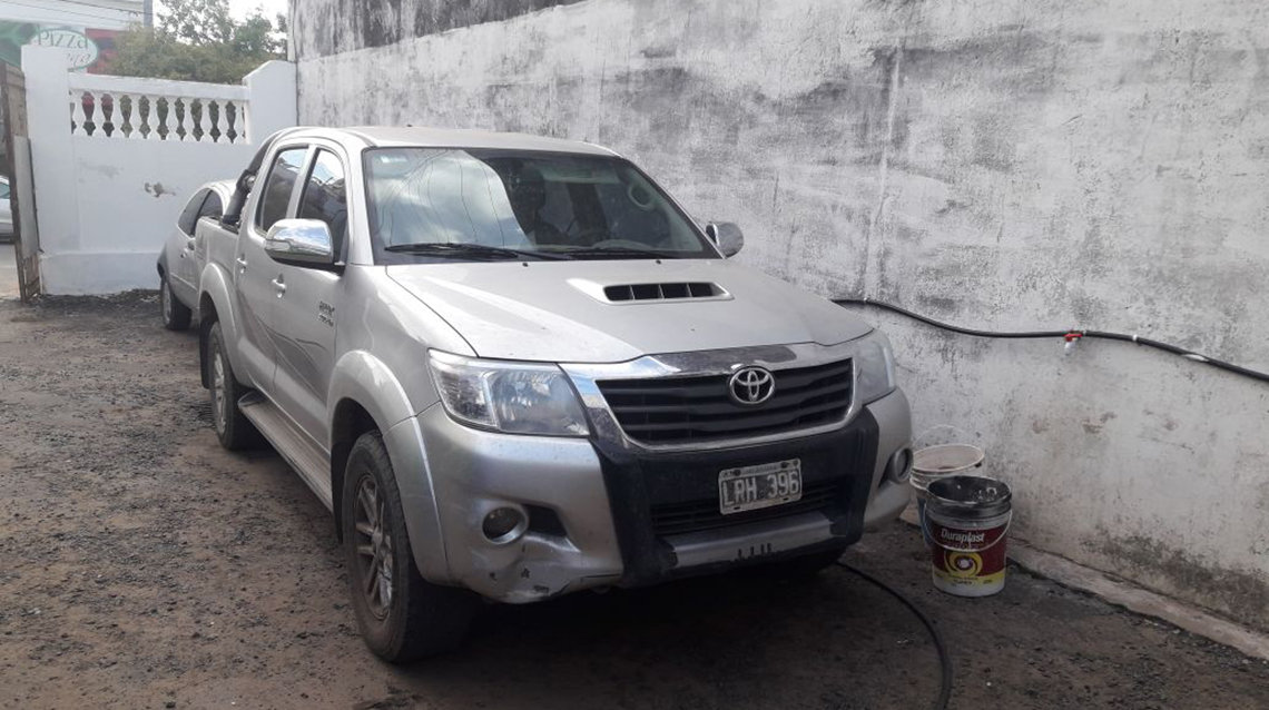 Recuperan Toyota robada