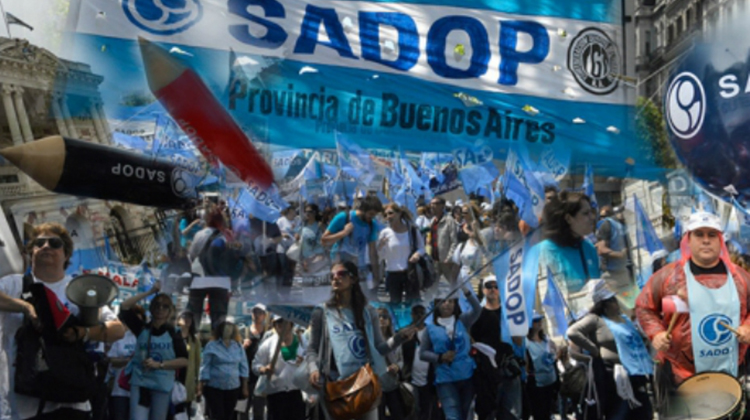 Sadop: Paro y movilización