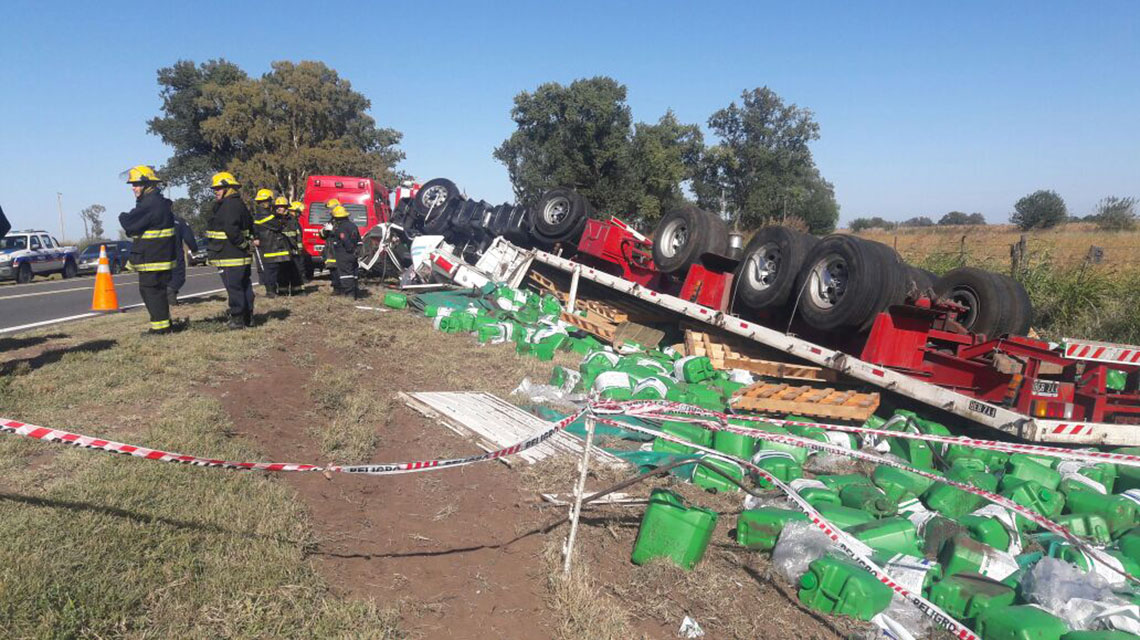 Buscan testigos de accidente fatal en Ruta 5