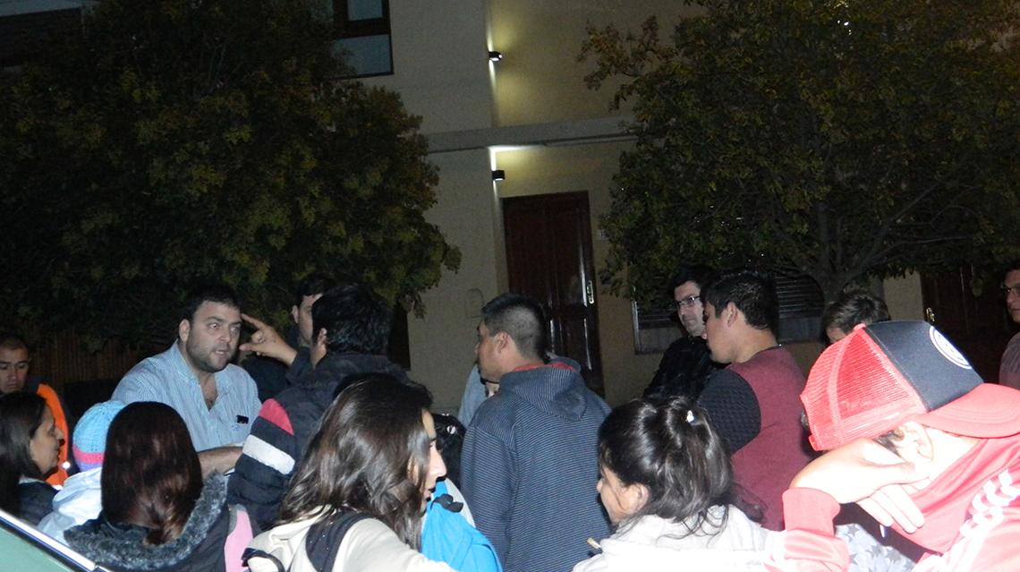 Vecinos reclamaron por vivienda en casa del intendente