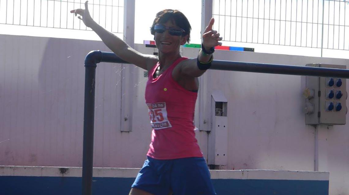 Marcantoni una ultramaratonista de ley