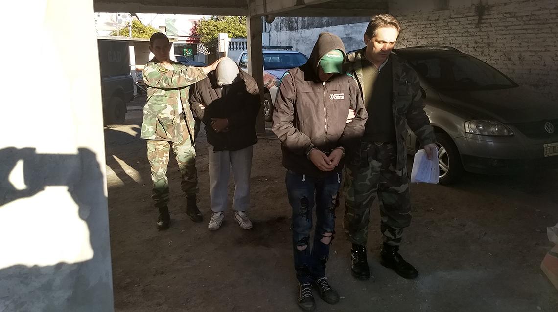 Policía efectuó diversas detenciones