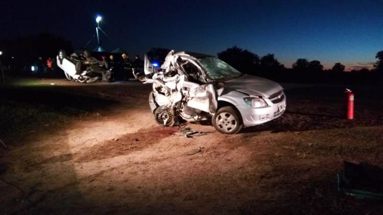 Fallecen dos nuevejulienses en Ruta 65