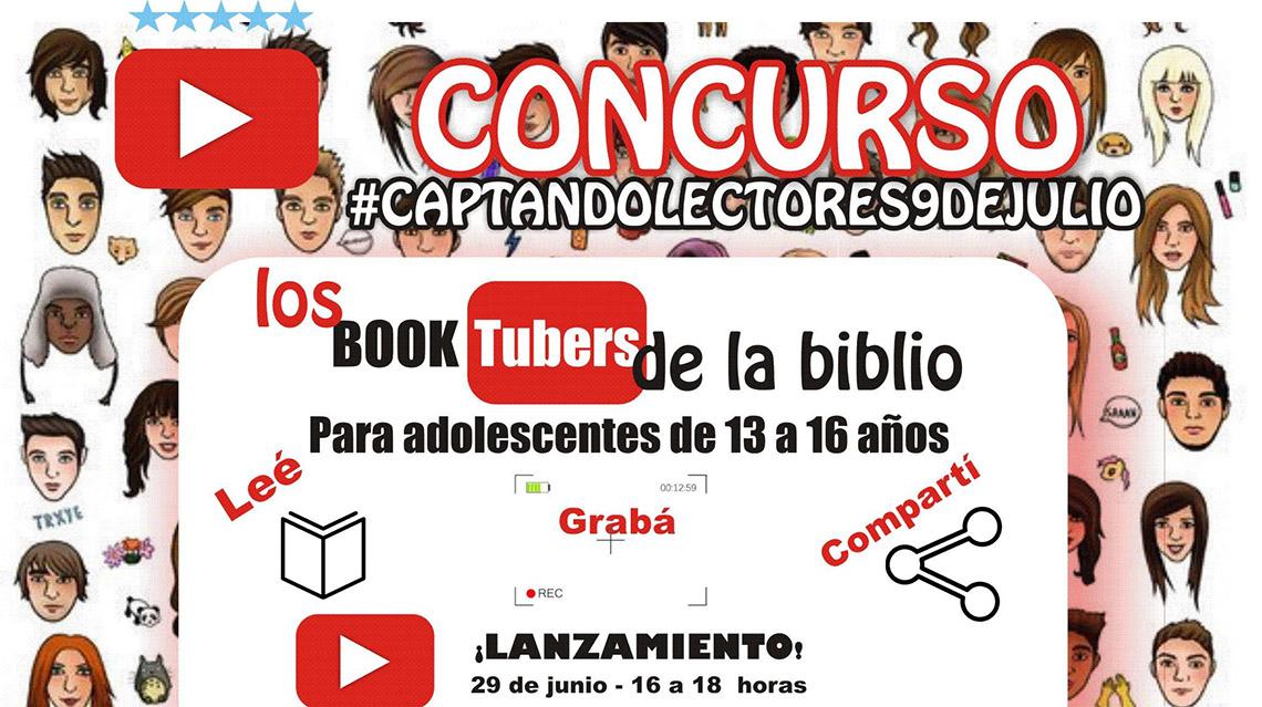 Concurso para Booktubers