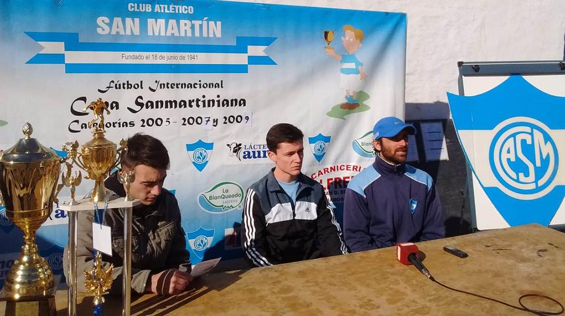 Arranca la Copa Sanmartiniana