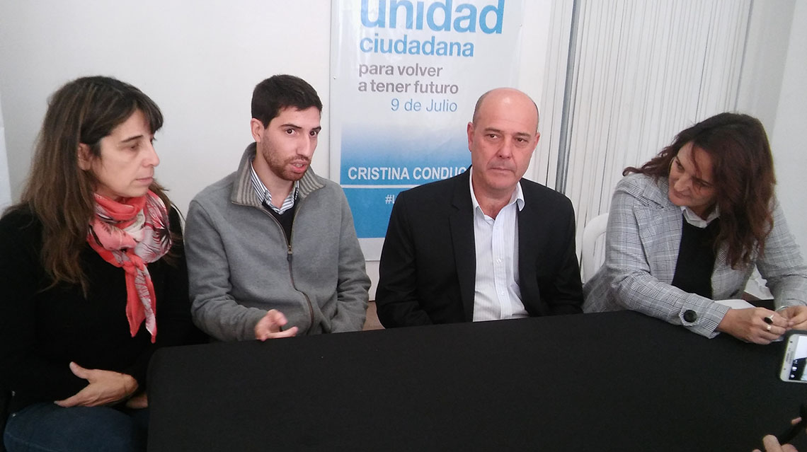 Unidad Ciudadana 9 de Julio contra los aportes truchos de Cambiemos