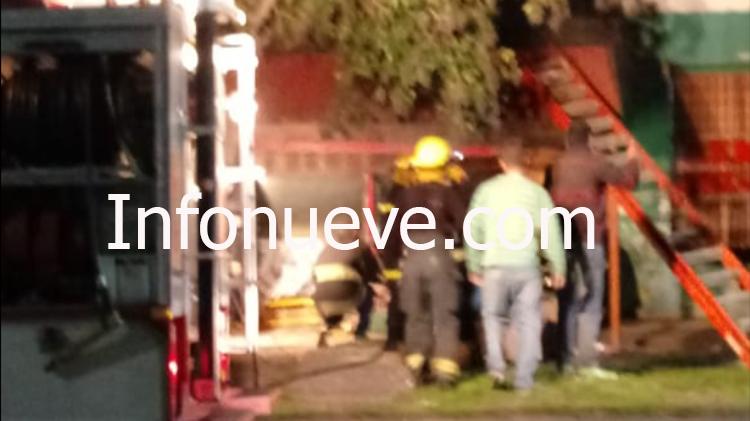 Dos vecinos hospitalizados tras explosión de garrafa