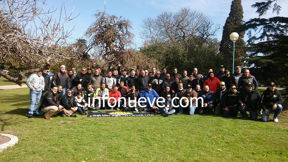 Club Versys Argentina hace pasión nuevejuliense