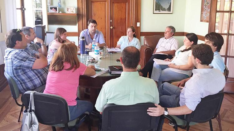 Reunión del Gabinete Municipal