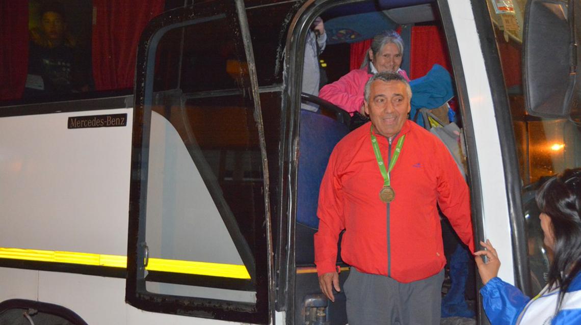 Arribaron a nuestra ciudad los finalistas de Juegos Bonaerenses