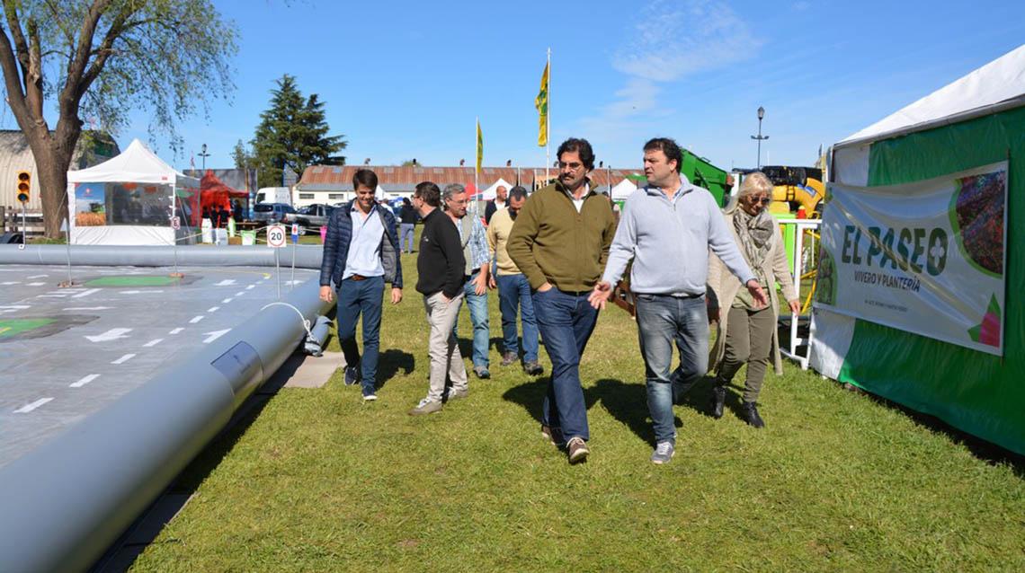 Sarquis visitó la Expo