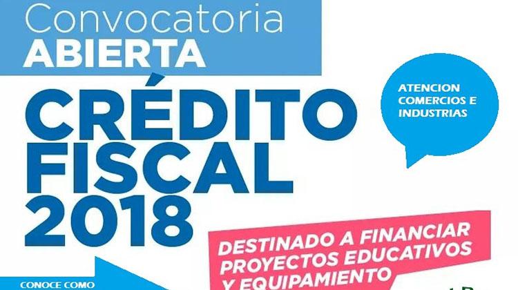 Crédito Fiscal 2018