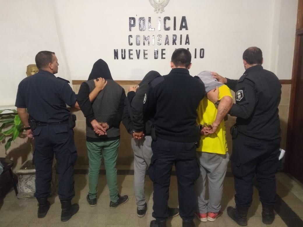 Detenidos por robo en fiambrería
