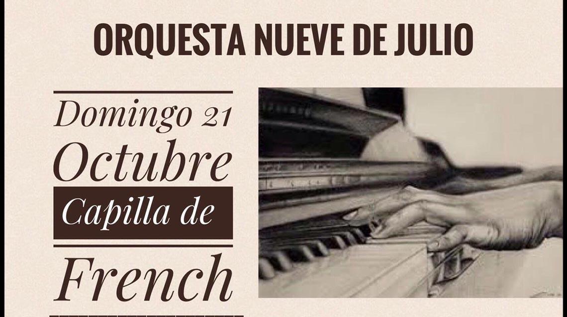 Presentación musical en French