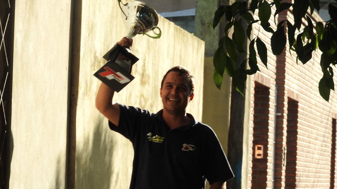 Nicolas Bonfiglio hizo podio en el TP