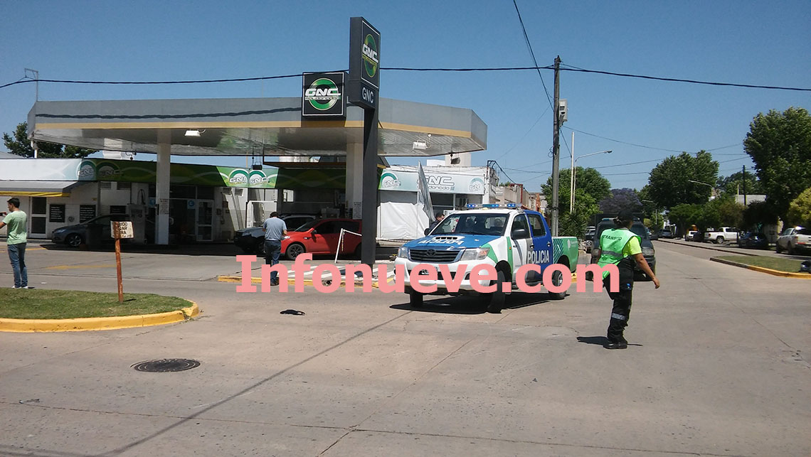 ​Accidente vial entre motos