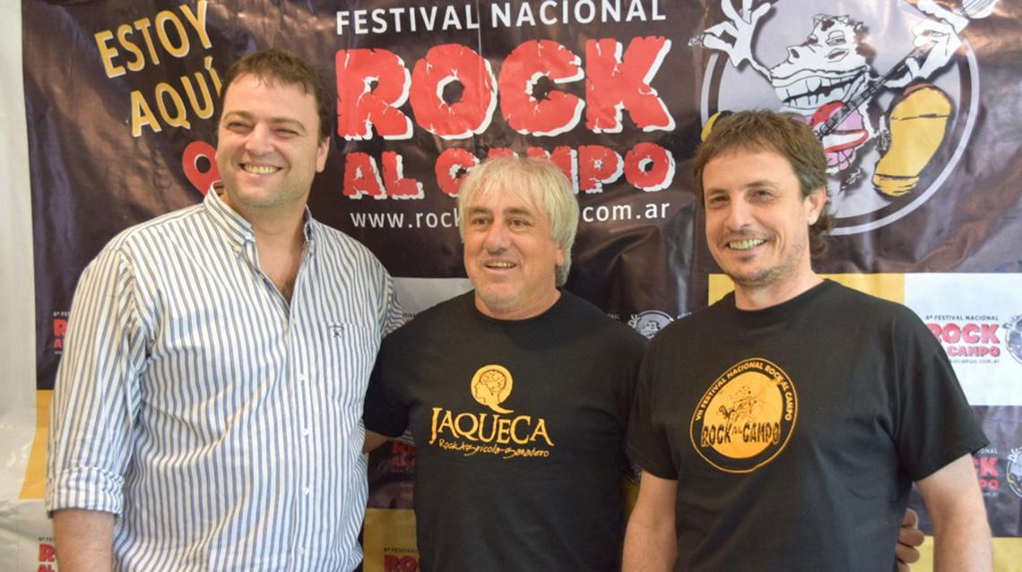 Se viene el rock al campo en Quiroga