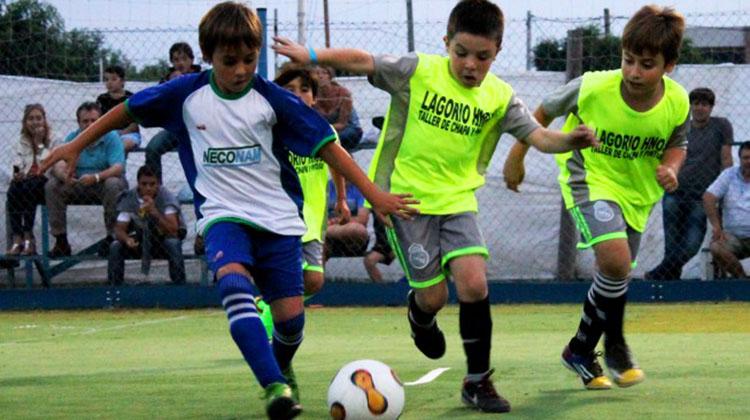 El Baby fútbol de San Martín ya tiene sus finalistas