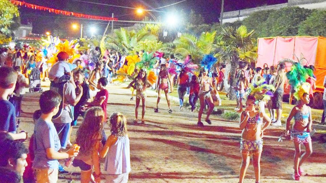 Noches de carnaval en Patricios