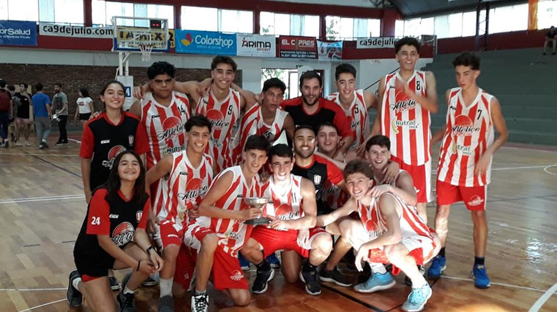 Atlético campeón de Copa de Plata