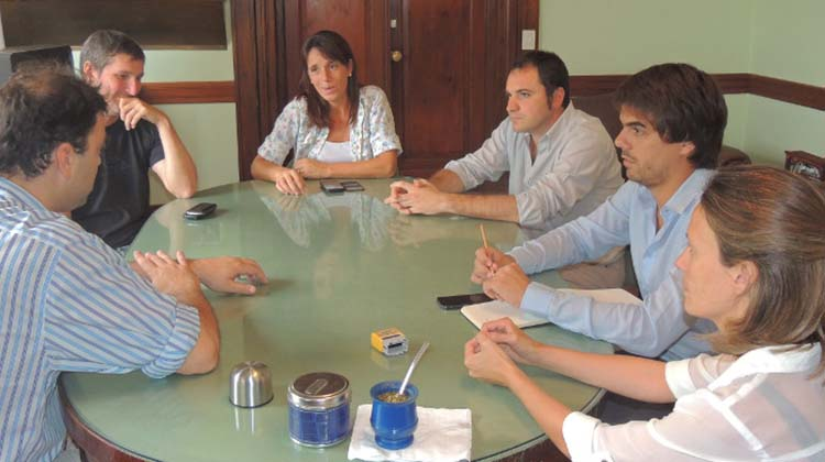 Barroso se reunió con los presidentes de Bloques