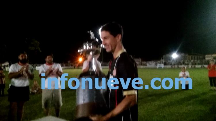 Nacho Fernández volvió a casa