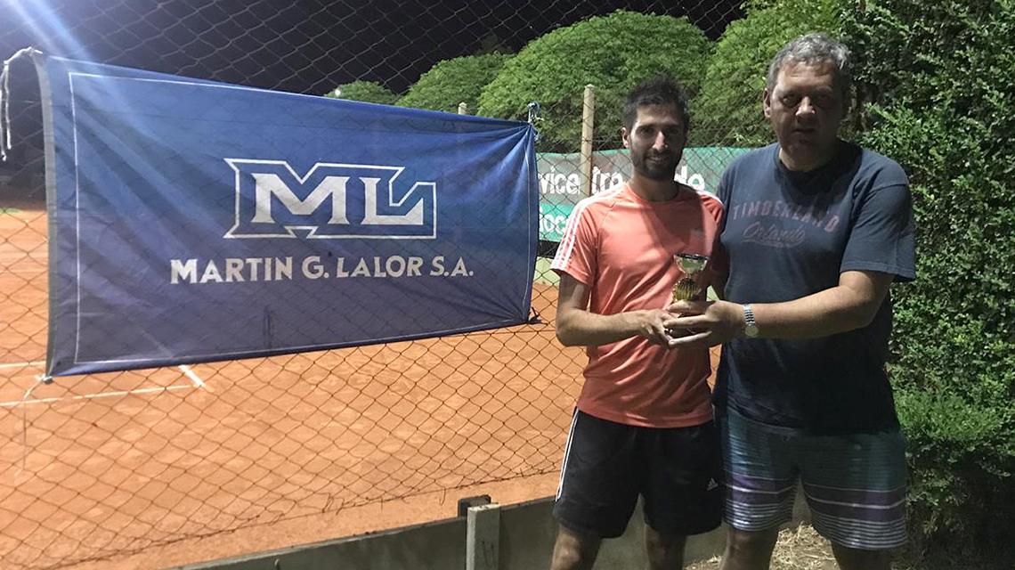 Los coronados del tenis Sanmartiniano