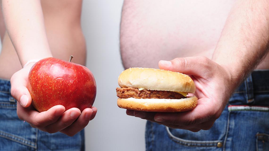 Prevención del sobrepeso u obesidad