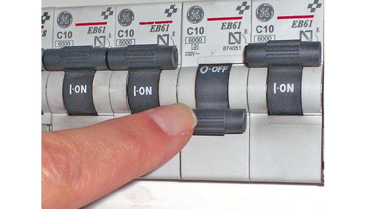 Corte de energía eléctrica programado